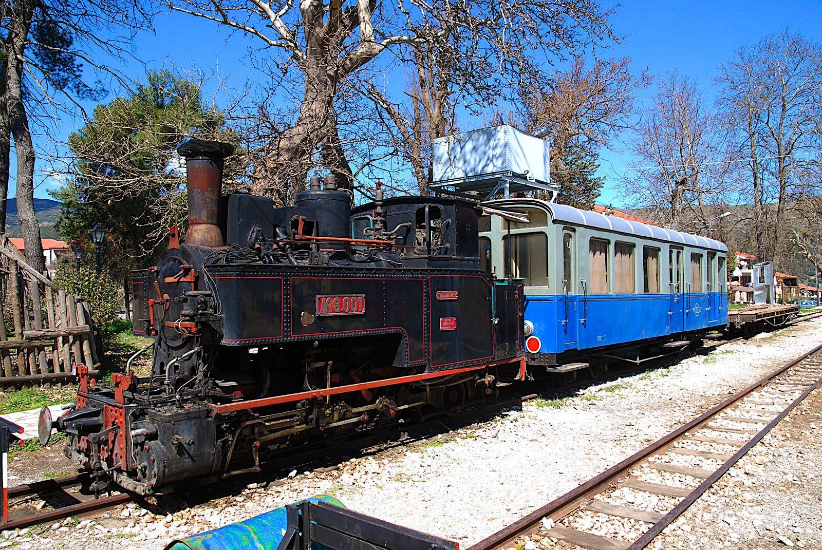 The steam locomotive of the Diakofto-Kalavryta railway © K Krallis / CC BY-SA 3.0