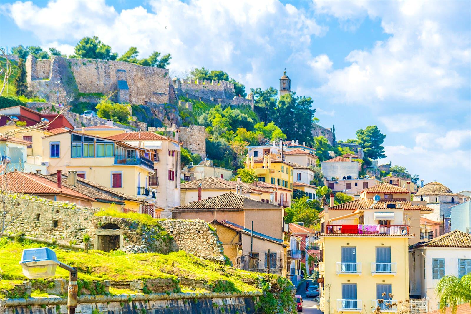 Nafplio's colourful old town © Alexandros Petrakis / Shutterstock