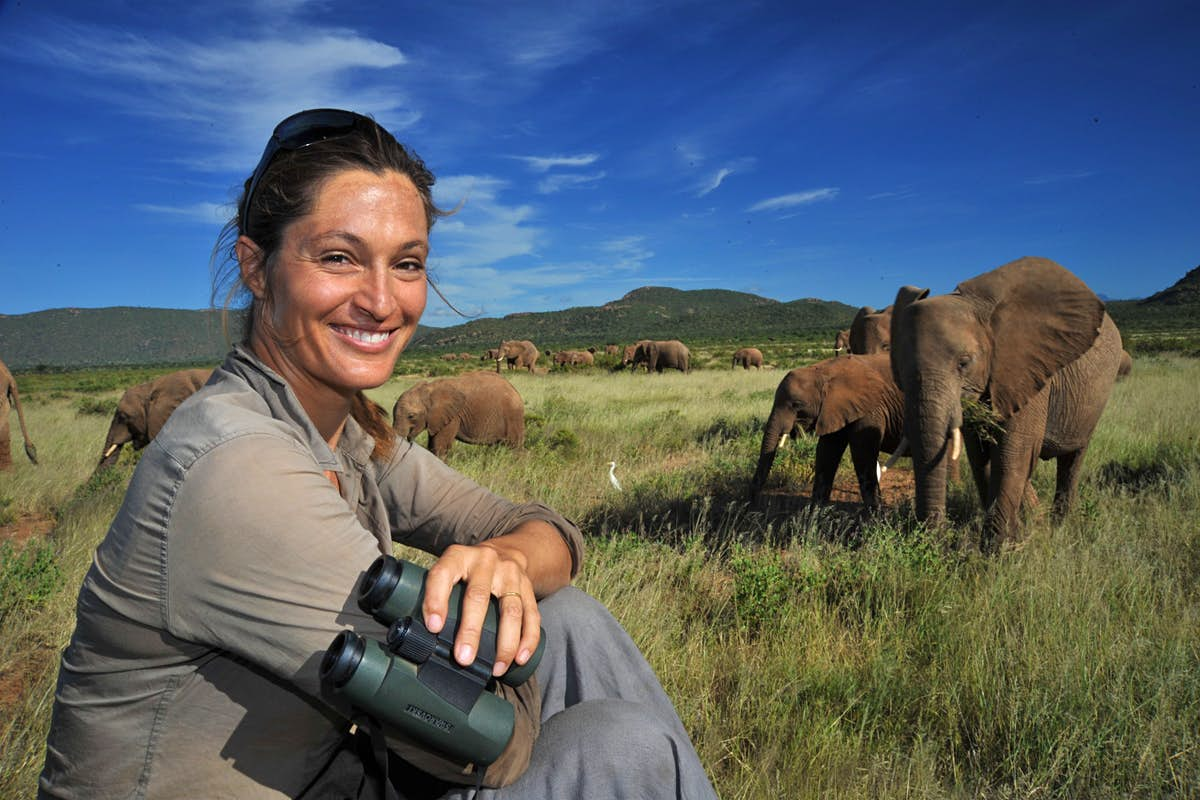 Meet a traveller: Saba Douglas-Hamilton, conservationist and wildlife film-maker - Lonely Planet