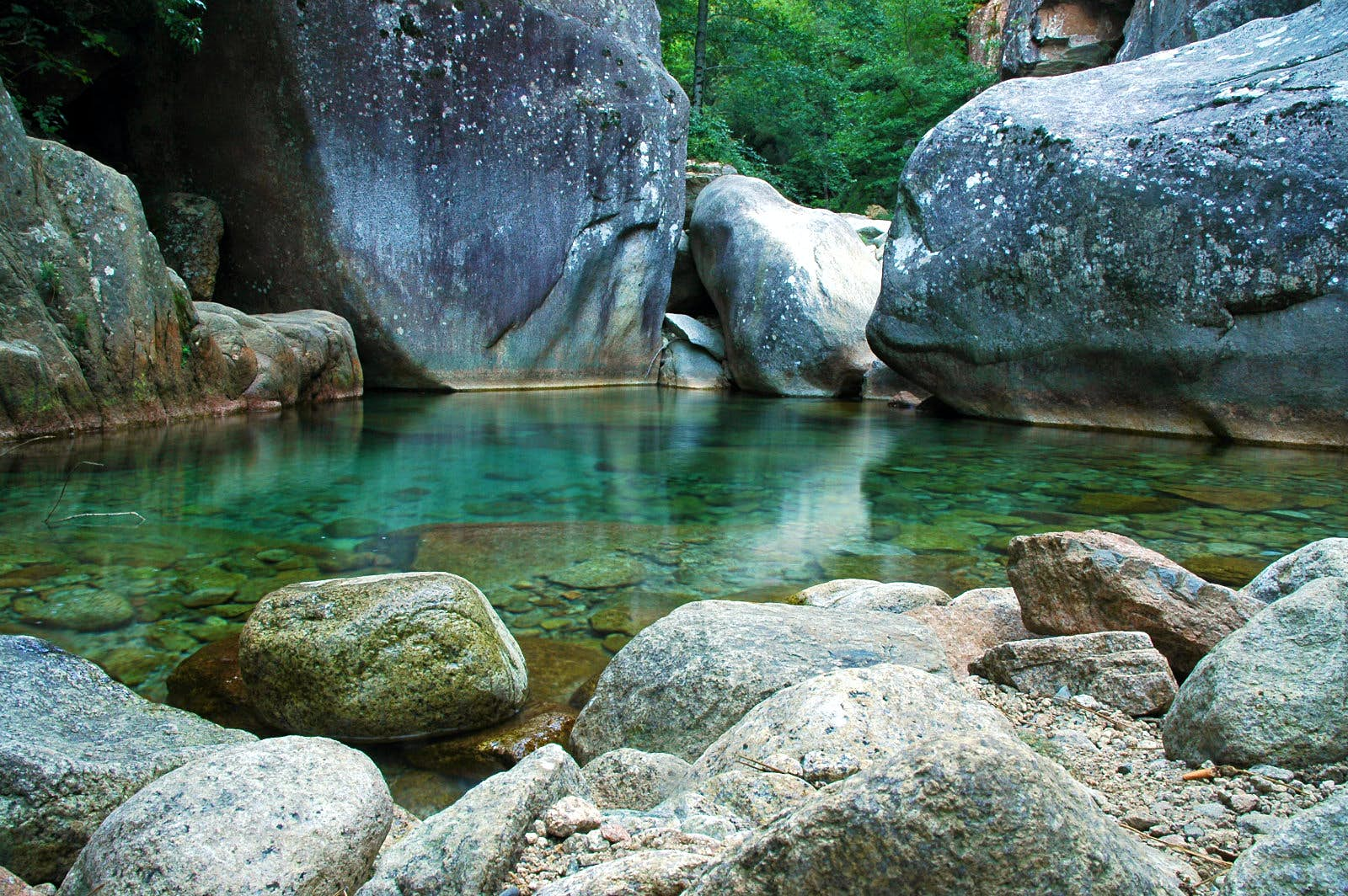 Find your own private plunge pool in Purcaraccia Canyon, Corsica © salajean / Getty Images