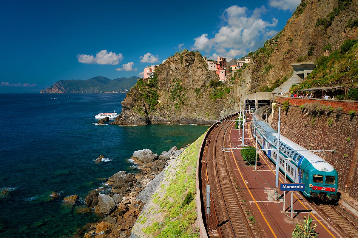 Exploring Italy by train