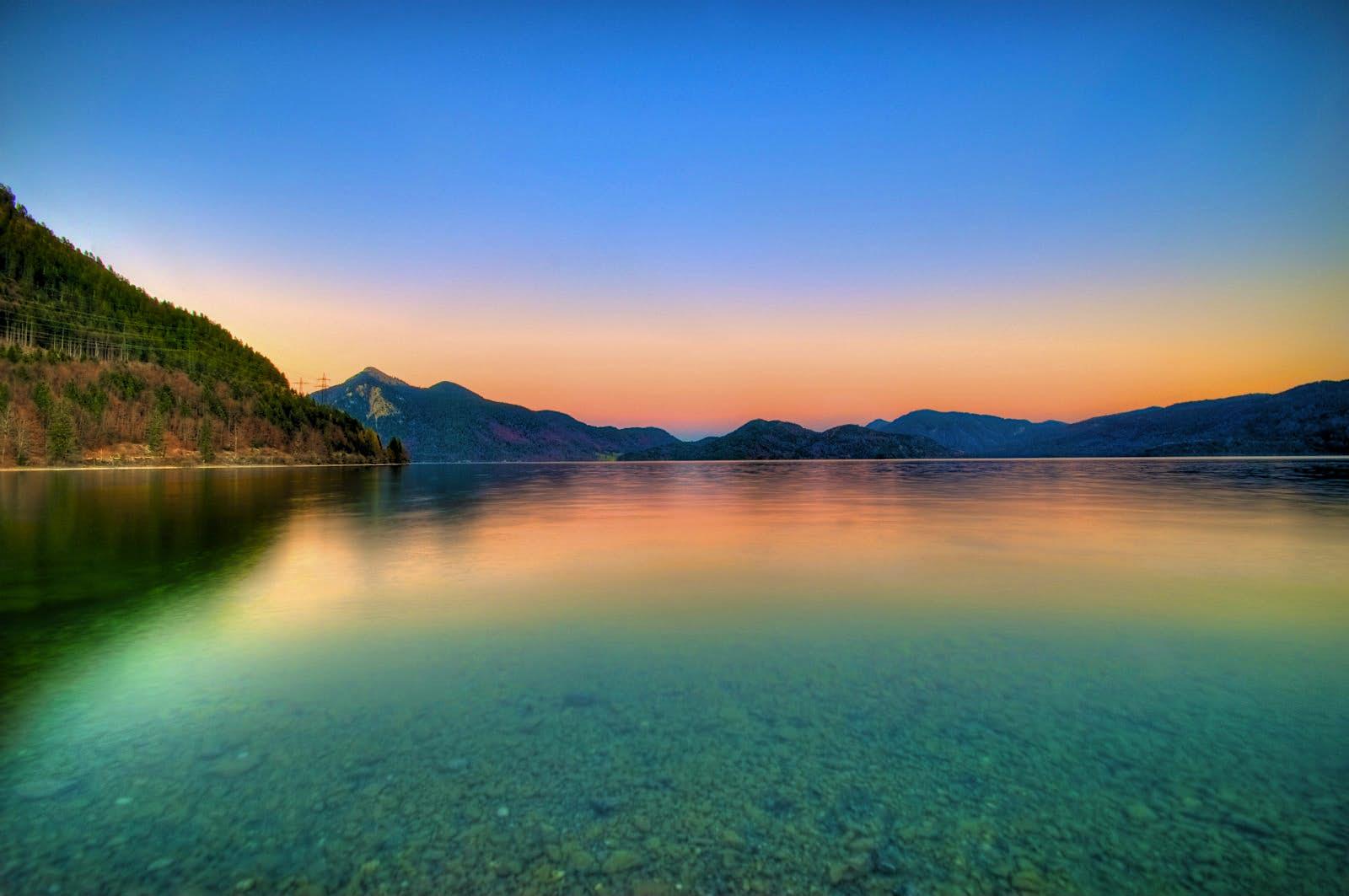 Explore offshore islands and swim in deep alpine waters in Lake Walchen © Luigi R. Viggiano / Getty Images