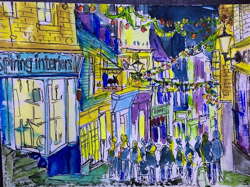 Folkestone Old High Street, UK