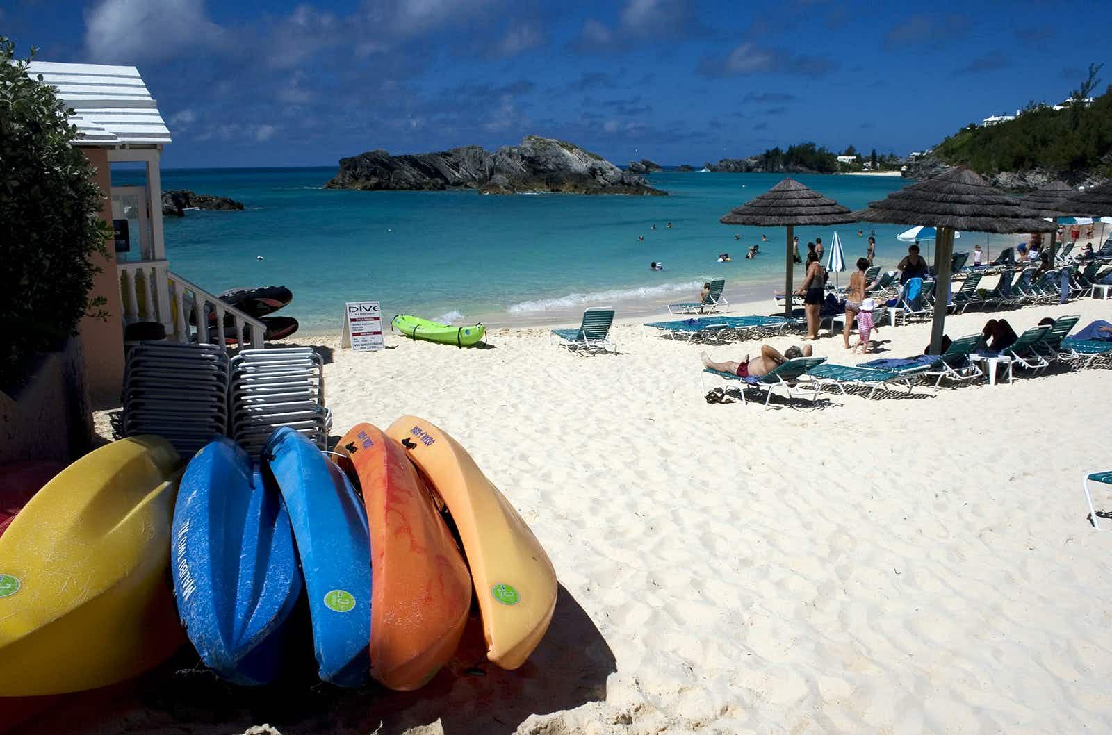 Get active in Bermuda