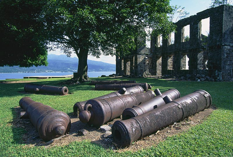 Fort Shirley is an 18th-century British garrison in Cabrits National Park © DeAgostini / Getty Images)