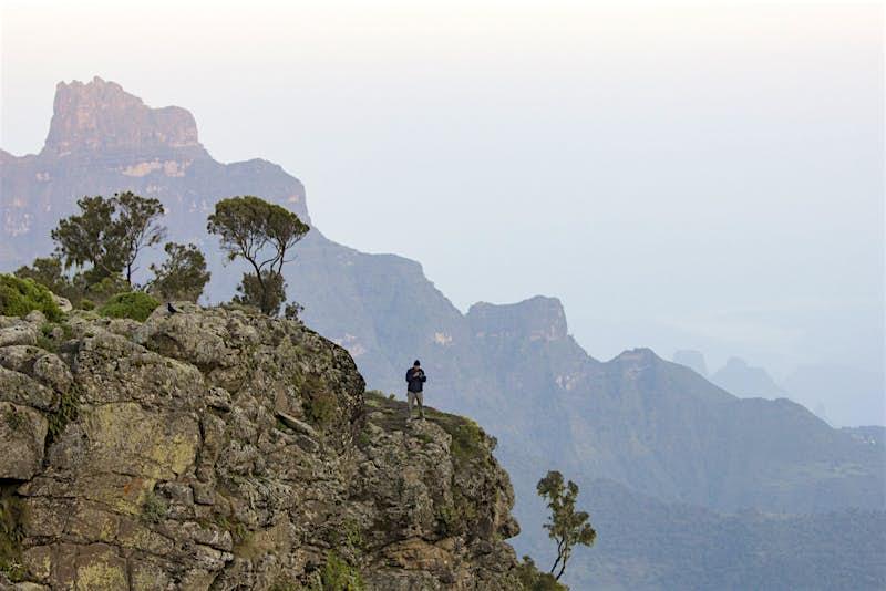 Simien Mountains trekking