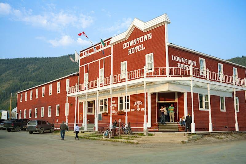 The Historic Downtown Hotel, Dawson City, Yukon © Miles Ertman / Getty