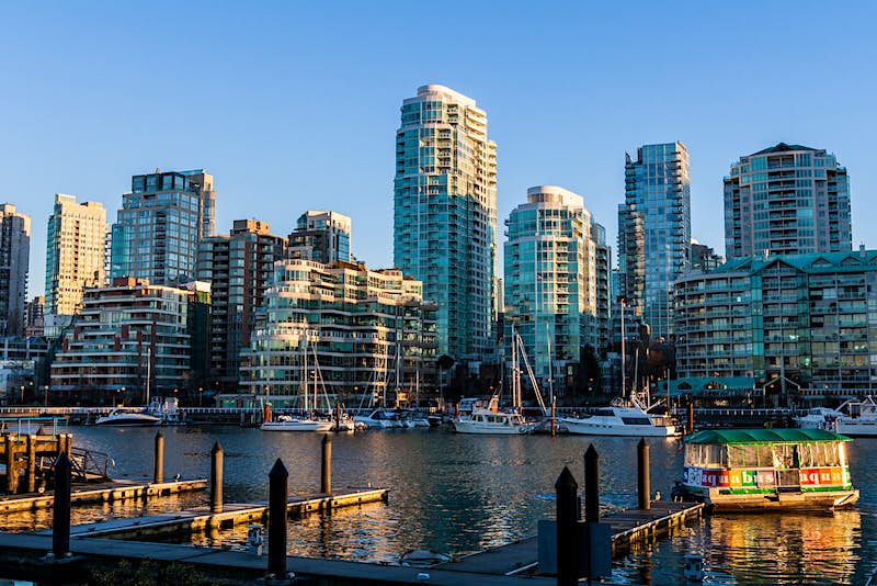 Vancouver from Granville Island © Alexander Howard / Lonely Planet
