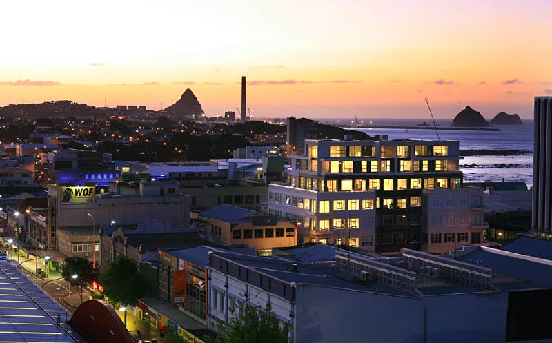 New Plymouth City.