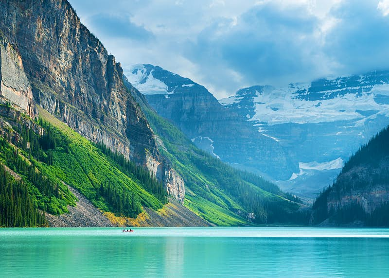 Lake Louise is just one of Canada's seemingly countless natural jewels ©Justin Foulkes / Lonely Planet