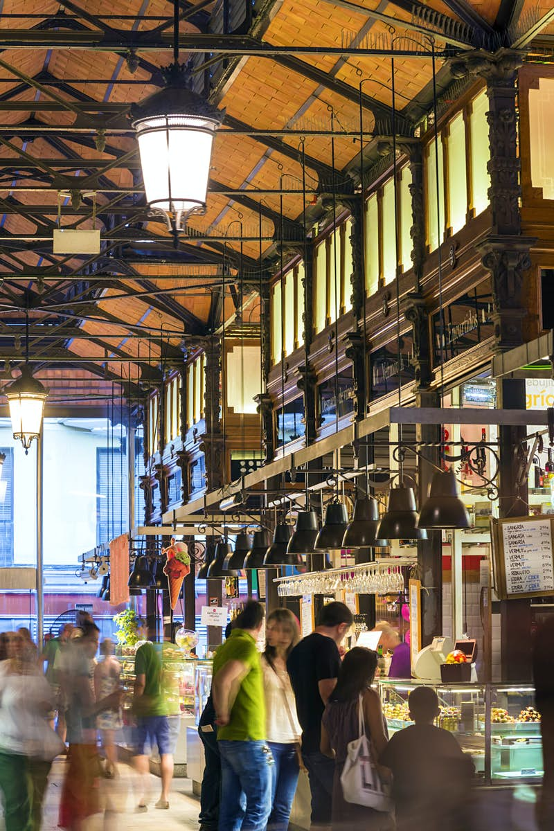 The hustle and bustle of Mercado San Miguel © Matteo Colombo / Getty Images