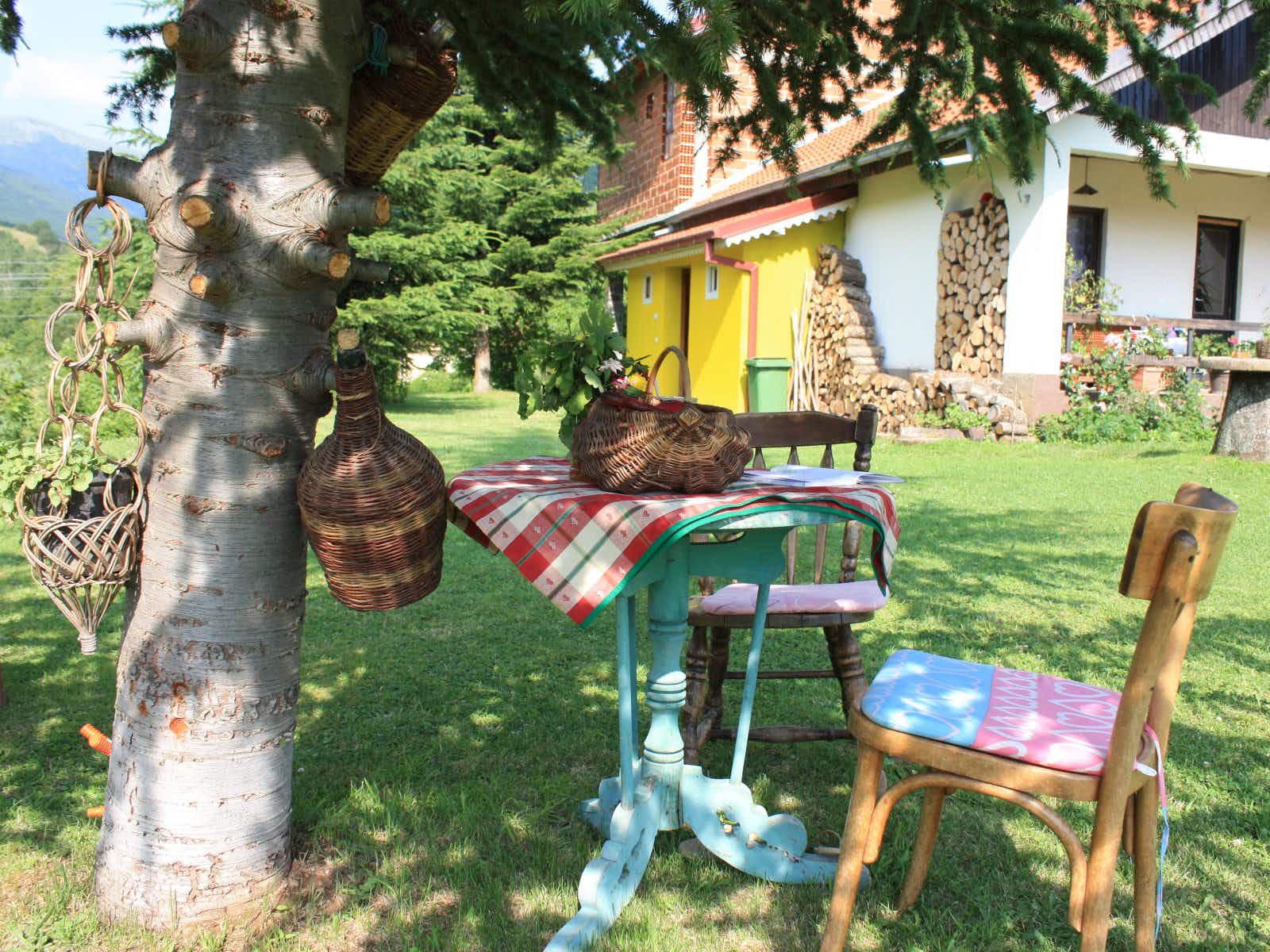 Vila Raskrsnica in the village of Brajcino © Lorna Parkes / Lonely Planet