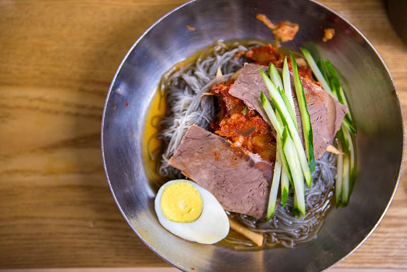 Naengmyeon may be served cold, but chilli brings the heat © Phung Huynh Vu Qui / Getty Images