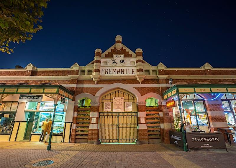 Fremantle's historic public market, which dates back to 1897 © MEzairi / Shutterstock