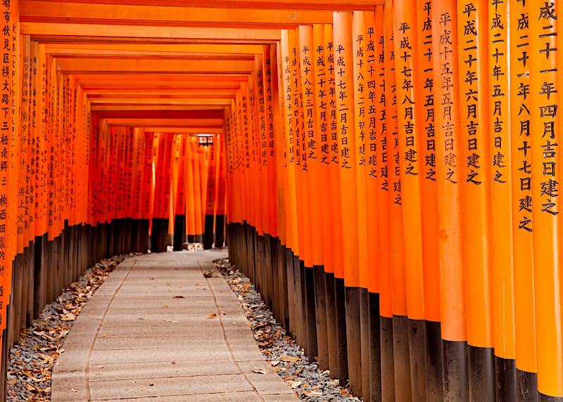 Fushimi Inari Taisha Shrine in Kyoto, Japan ©Pigprox / Shutterstock