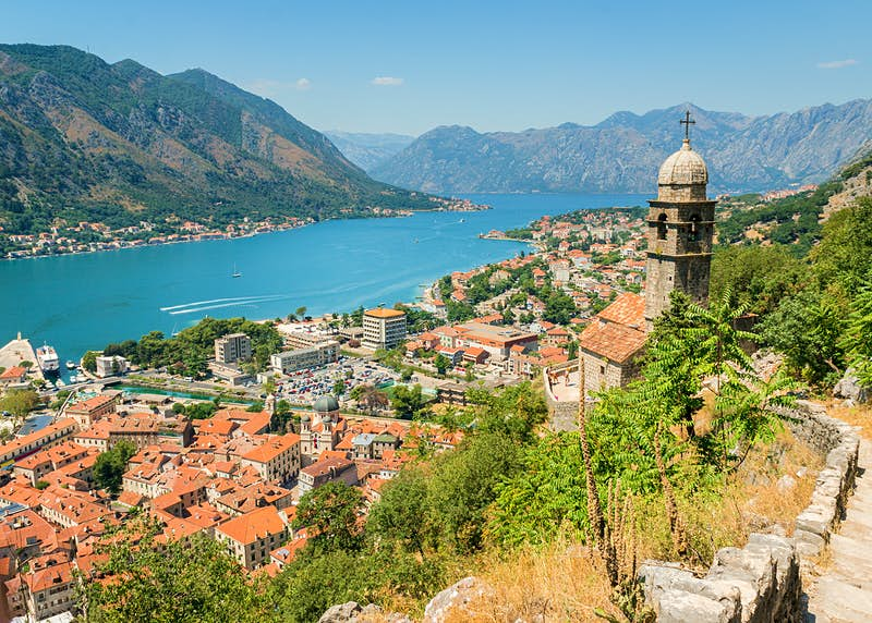 The stunning old town in the Bay of Kotor, Montenegro © Gilmanshin / Shutterstock
