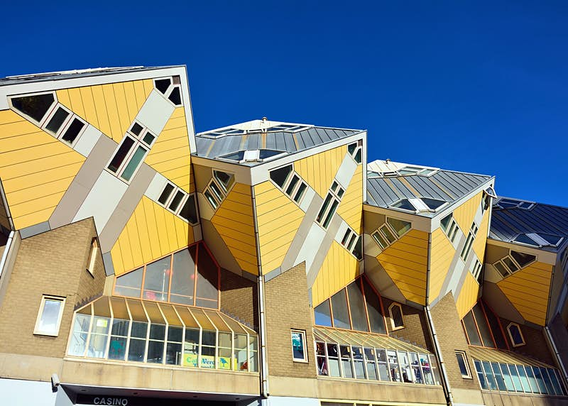 Cube houses in Rotterdam, the Netherlands © Hit1912 / Shutterstock
