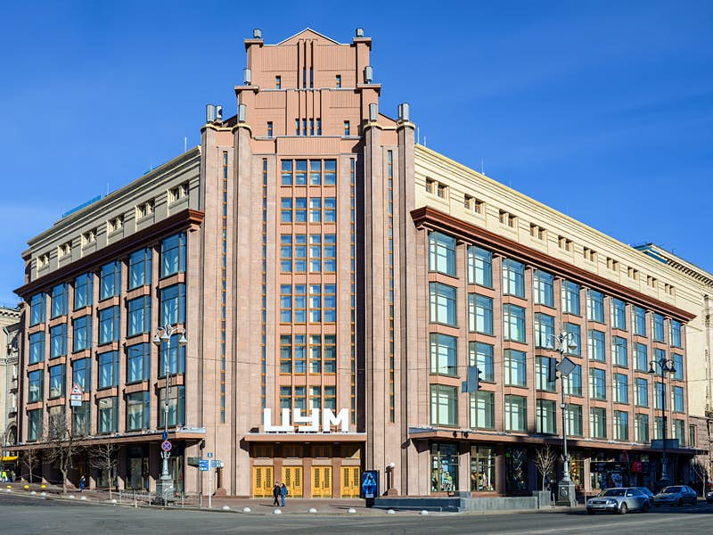 The iconic TSUM department store on Khreshchatyk boulevard © byvalet / Shutterstock