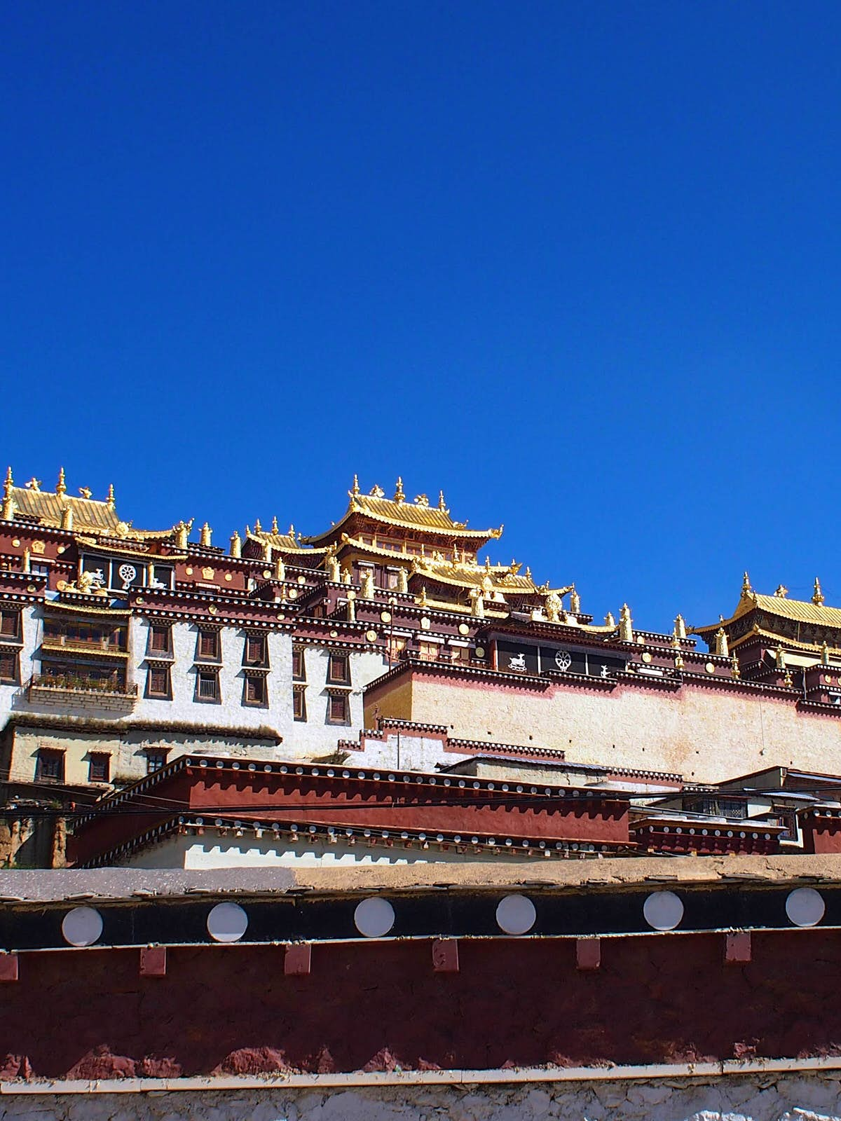 Ganden Sumtseling Gompa in Shangri-la © Tess Humphrys / Lonely Planet