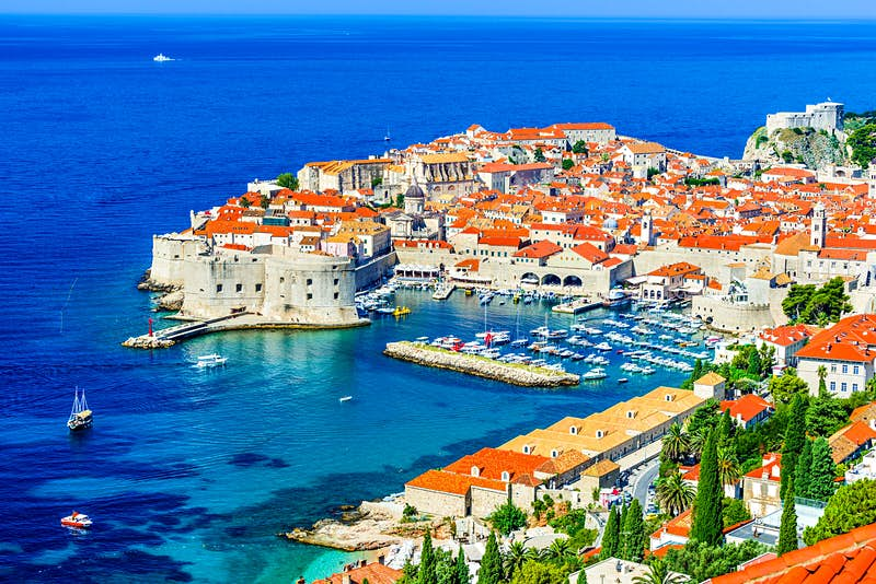 Dubrovnik's beautiful old town