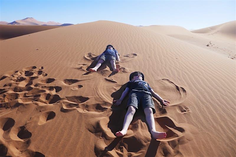 Namibia-family-safari-children-kids-sand-fun-Africa