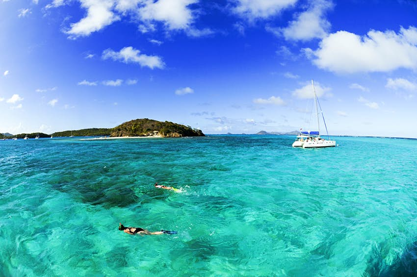 Features - Sailing, Tobago Cays, Saint Vincent, Caribbean