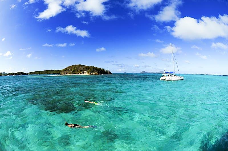 Features - Sailing, Tobago Cays, Saint Vincent, Caribbean