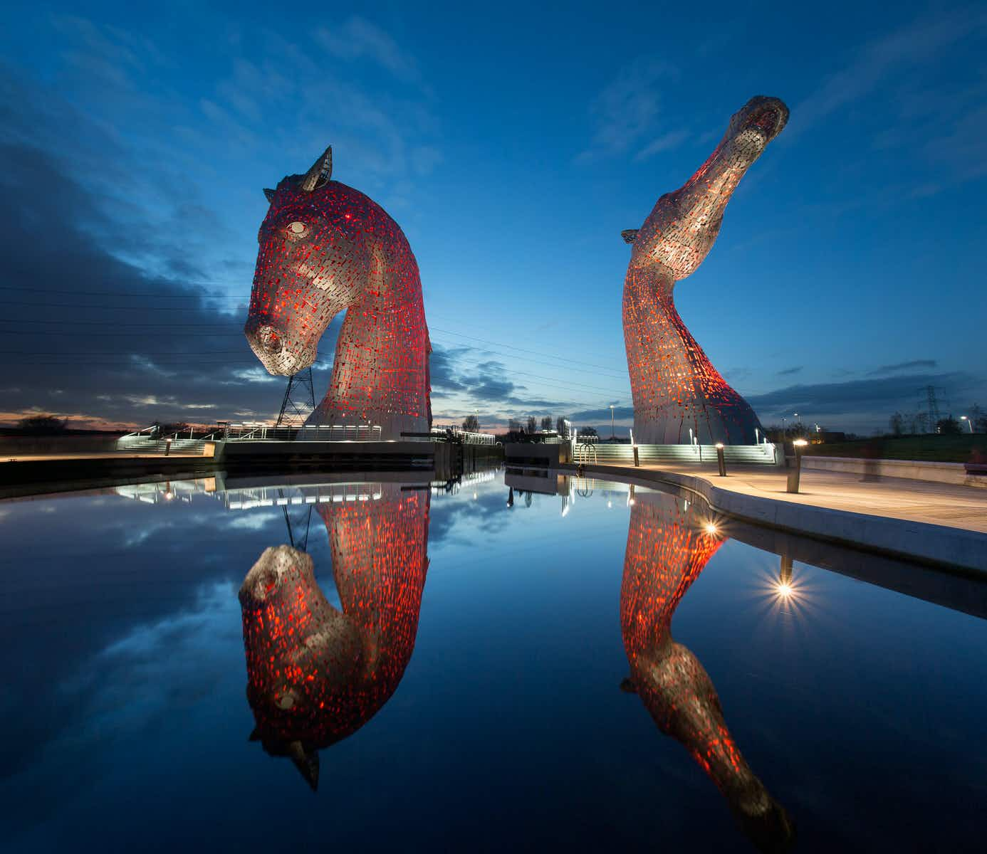 Best Edinburgh Day Trips Kelpies