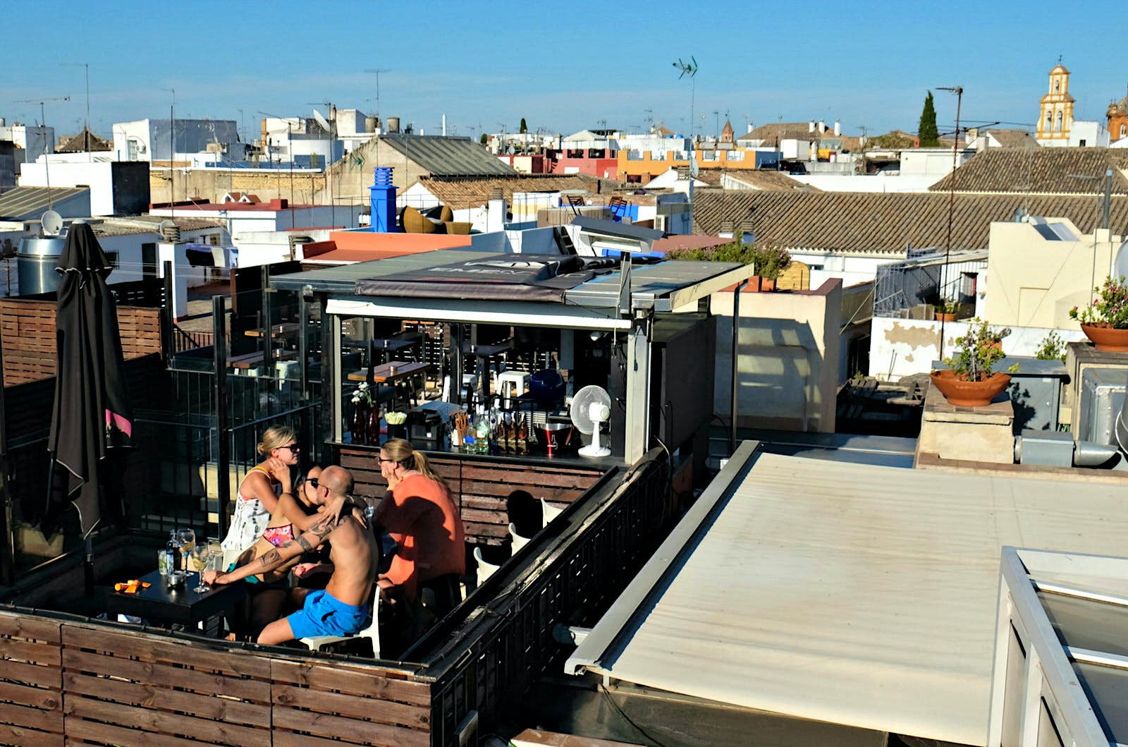 Up All Night The Best Rooftop Bars In Seville Lonely Planet