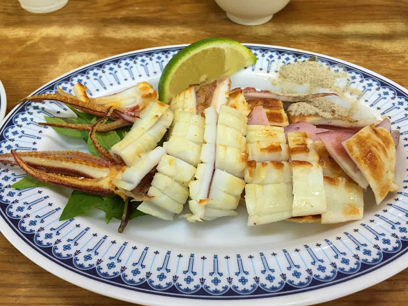 Seafood restaurants serving delicacies like grilled squid are found all over Kaohsiung, especially Cijin Island © Piera Chen / Lonely Planet