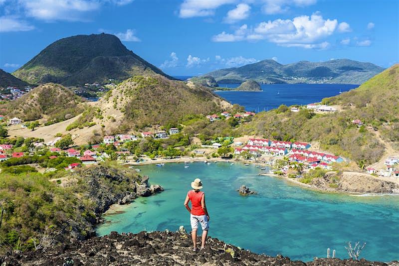 Features - France, Guadeloupe (French West Indies), Les Saintes archipelago, Terre de Haut, Marigot bay