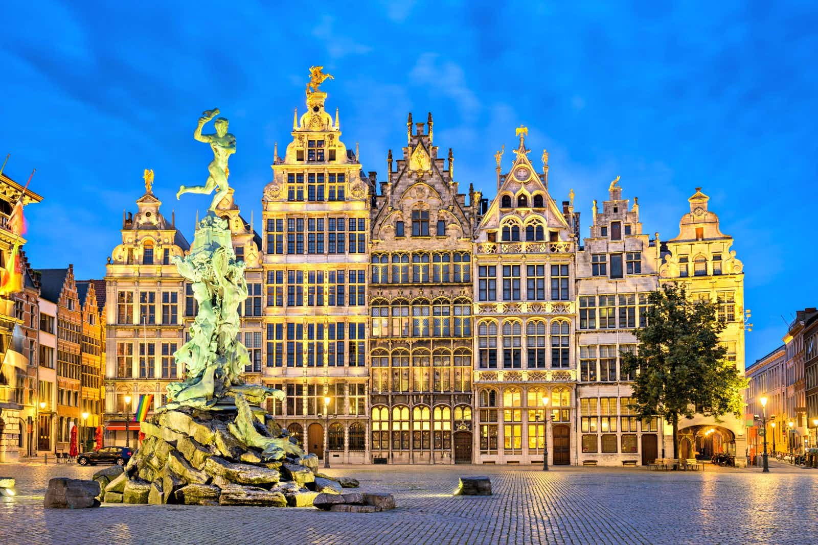 Is Antwerp the most continuously cool city on Earth?