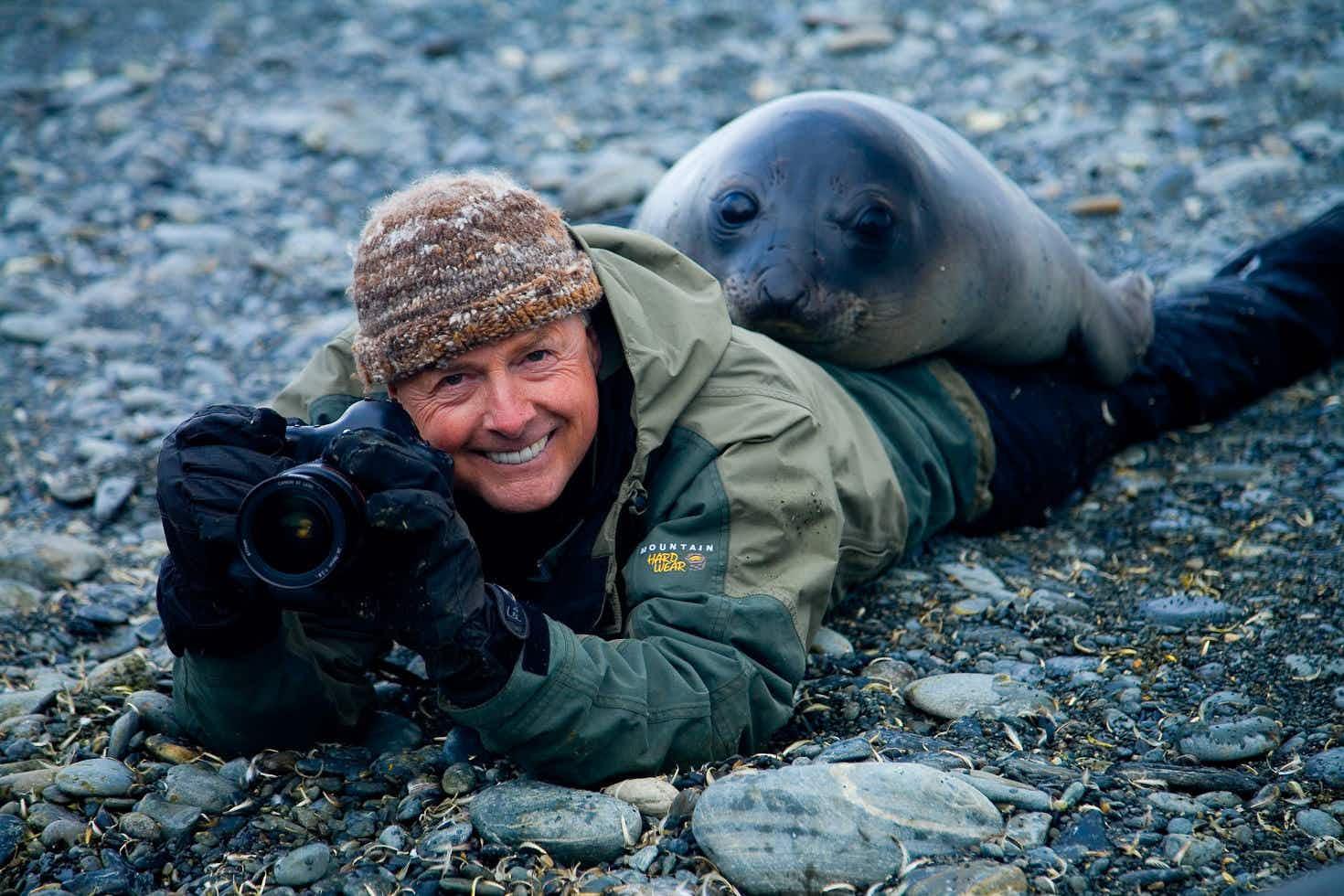 Meet a traveller: Art Wolfe, photographer and conservationist