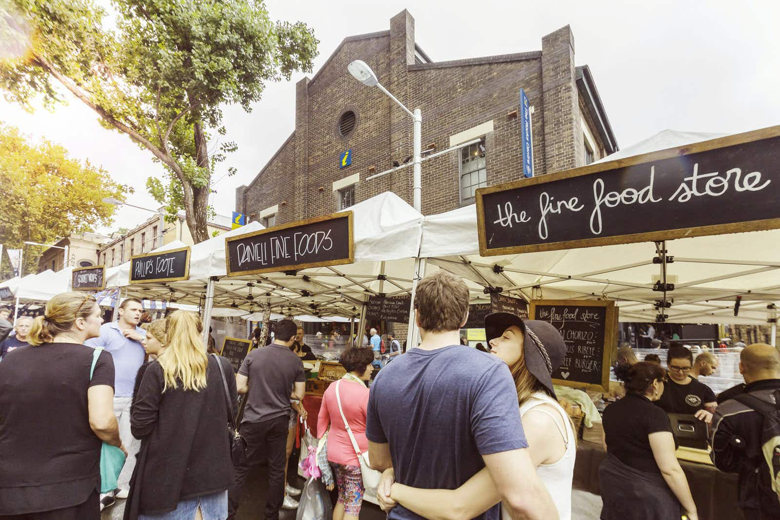 Sun, snacks and shopping: explore Sydney's outdoor markets