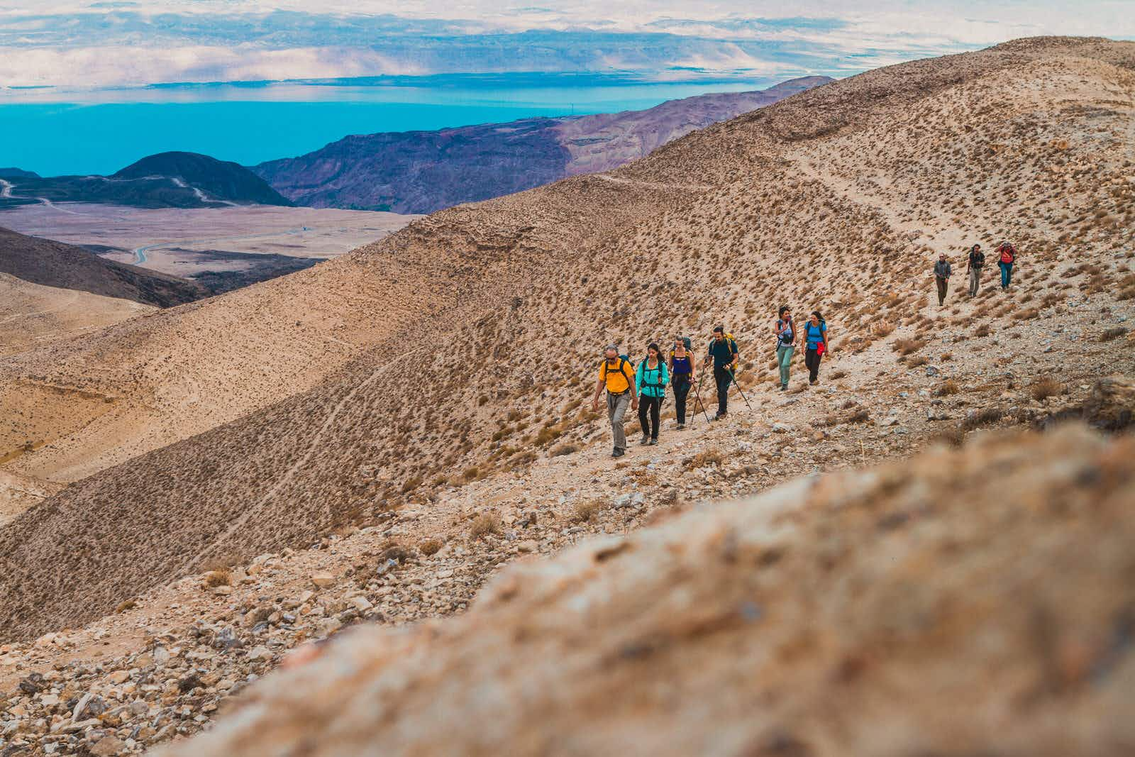 Hiking the Jordan Trail, the Middle East's new cross-country trek