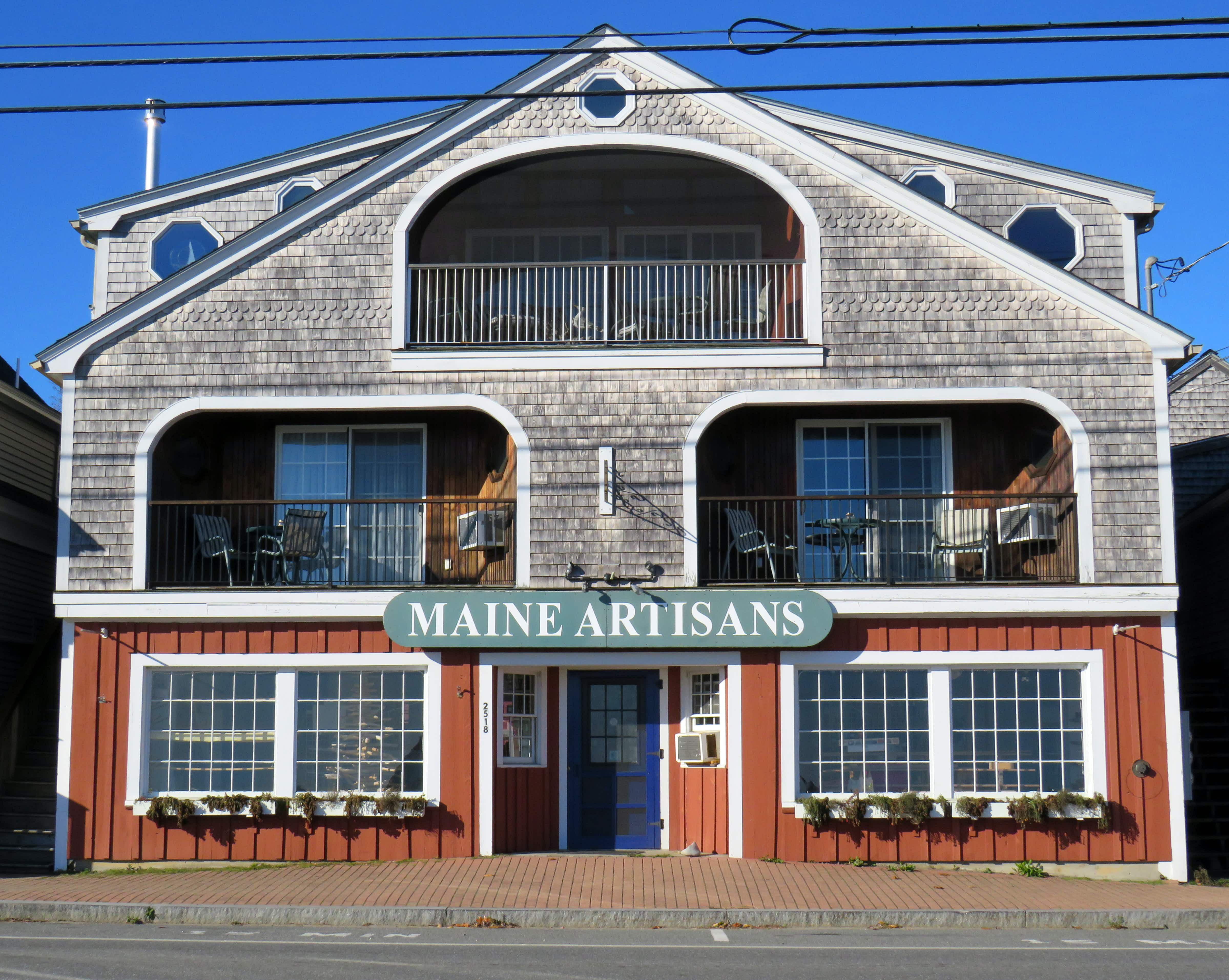 Art and artisanal craft of Midcoast Maine