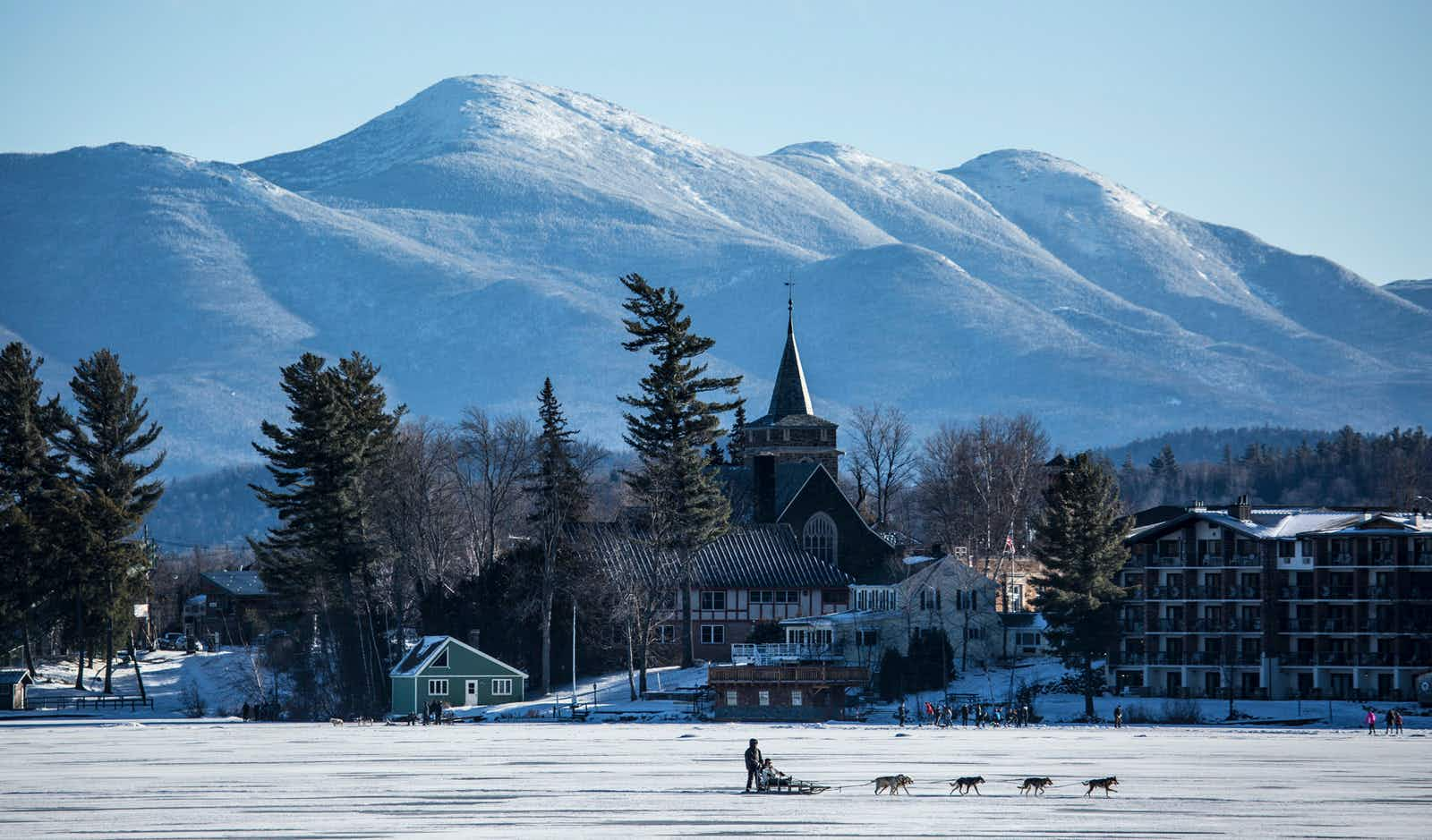 Dig into the chilly charms of Lake Placid in the winter