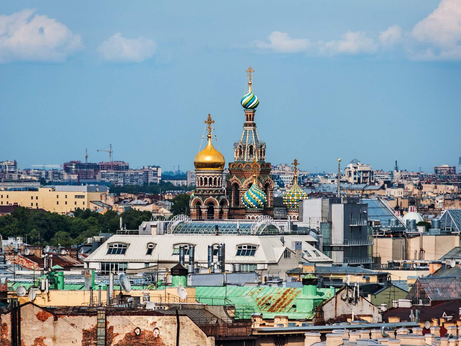 St Petersburg off the beaten track