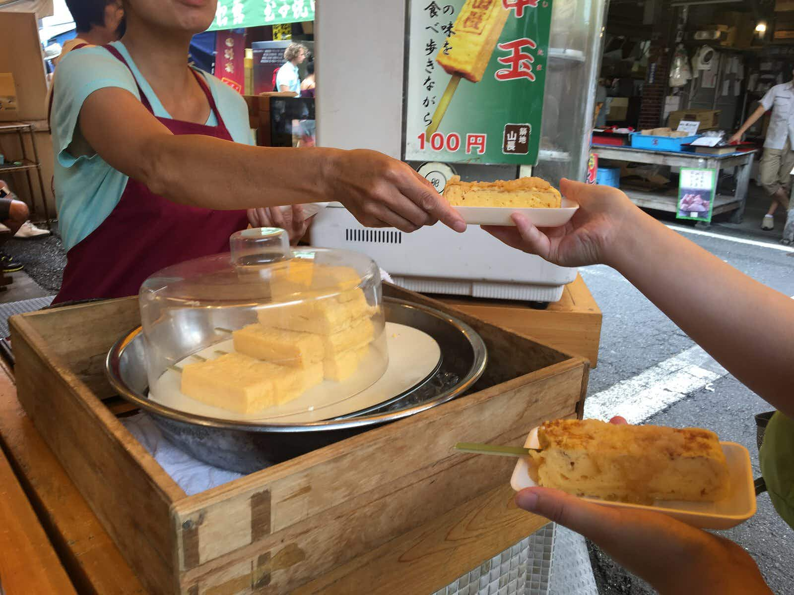 A foodie's day in Tokyo