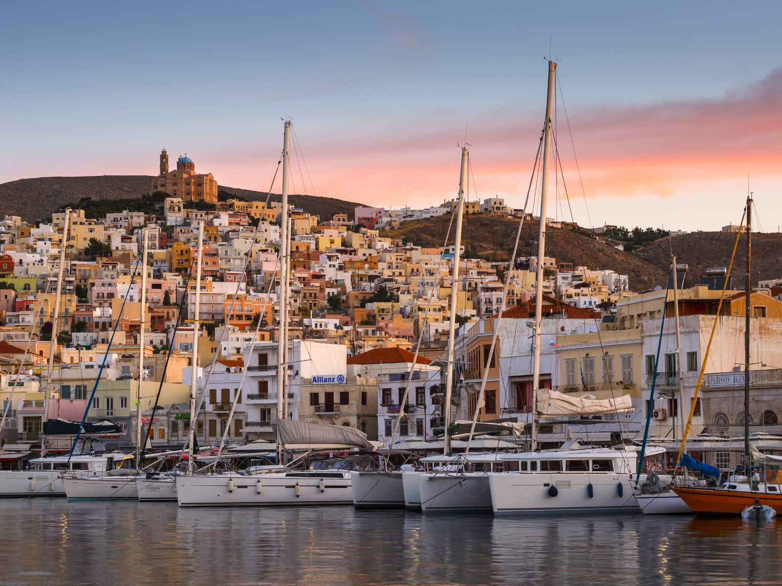 Syros: the Cyclades without the crowds