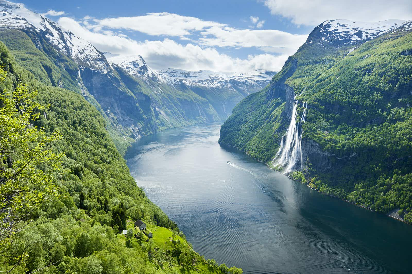 A voyage amongst Norway's fjords makes for an unforgettable experience © Justin Foulkes / Lonely Planet