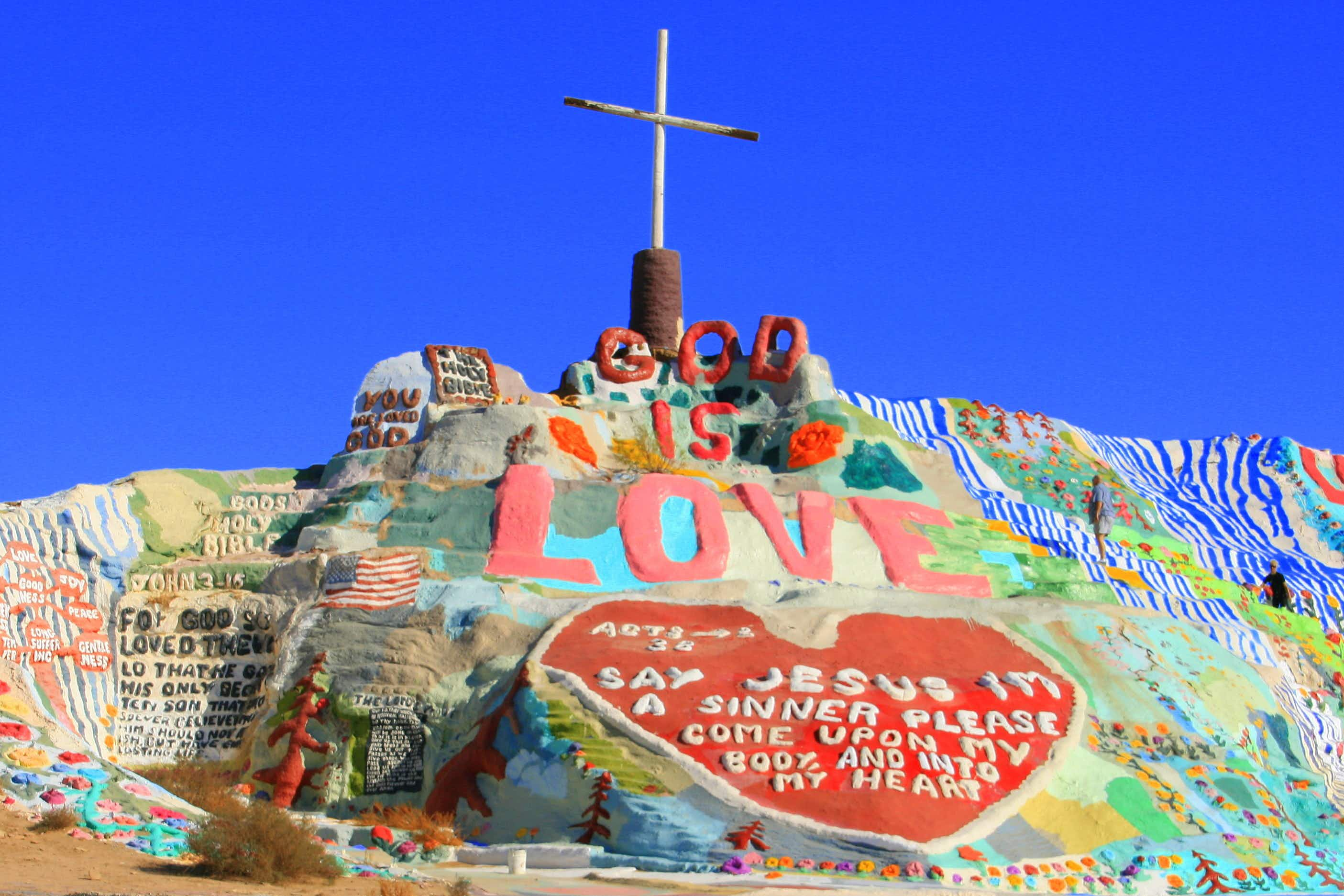 Awesomely bizarre pit stops on the road to Coachella