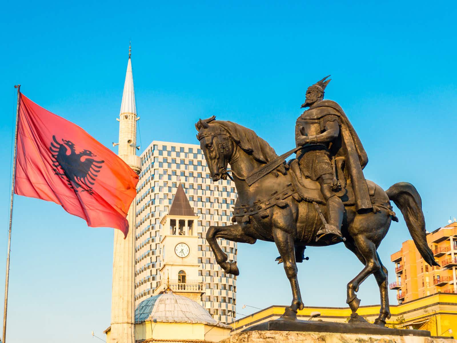 History and hedonism in Tirana