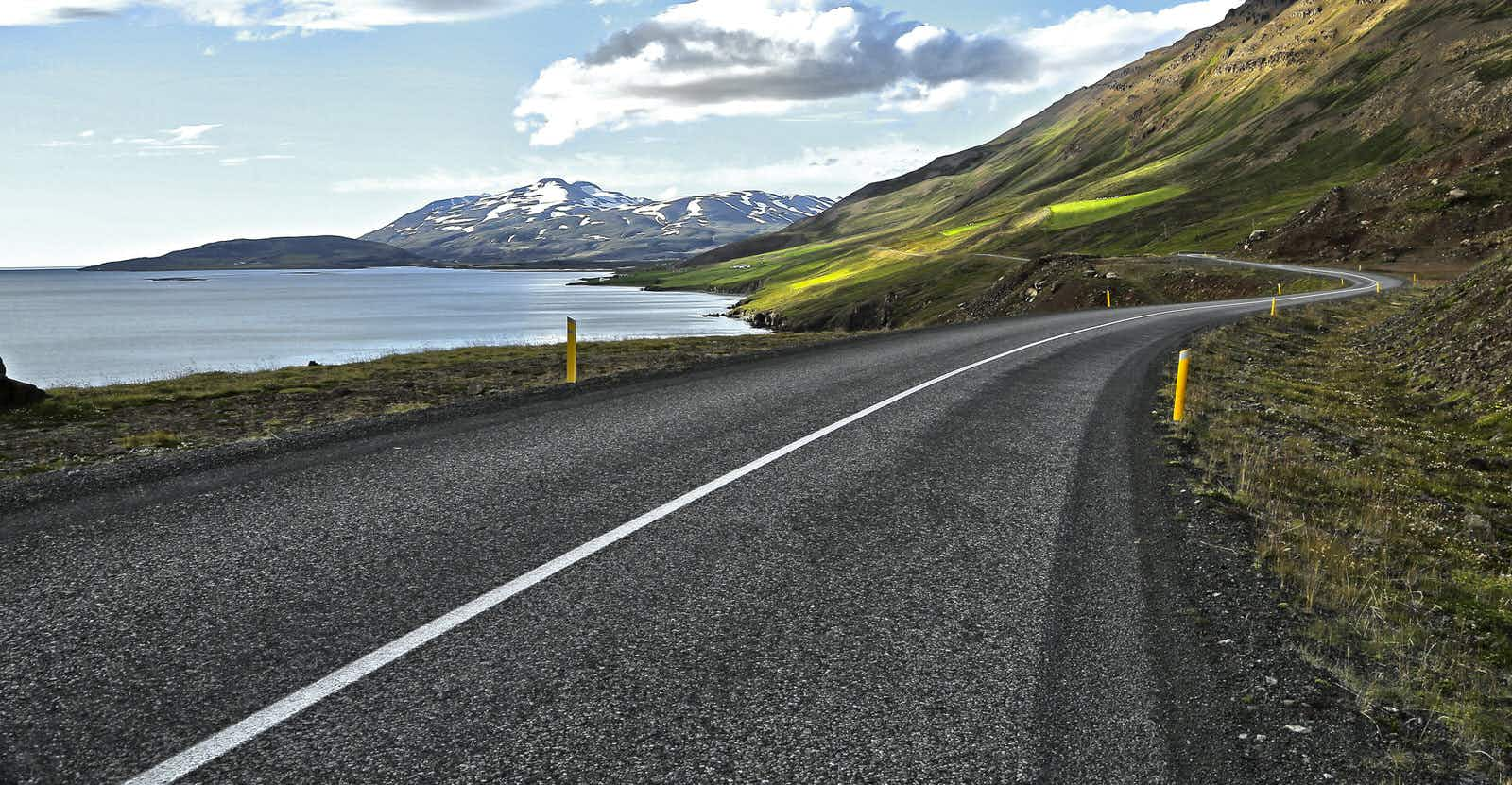 Road tripping along Iceland's longest fjord