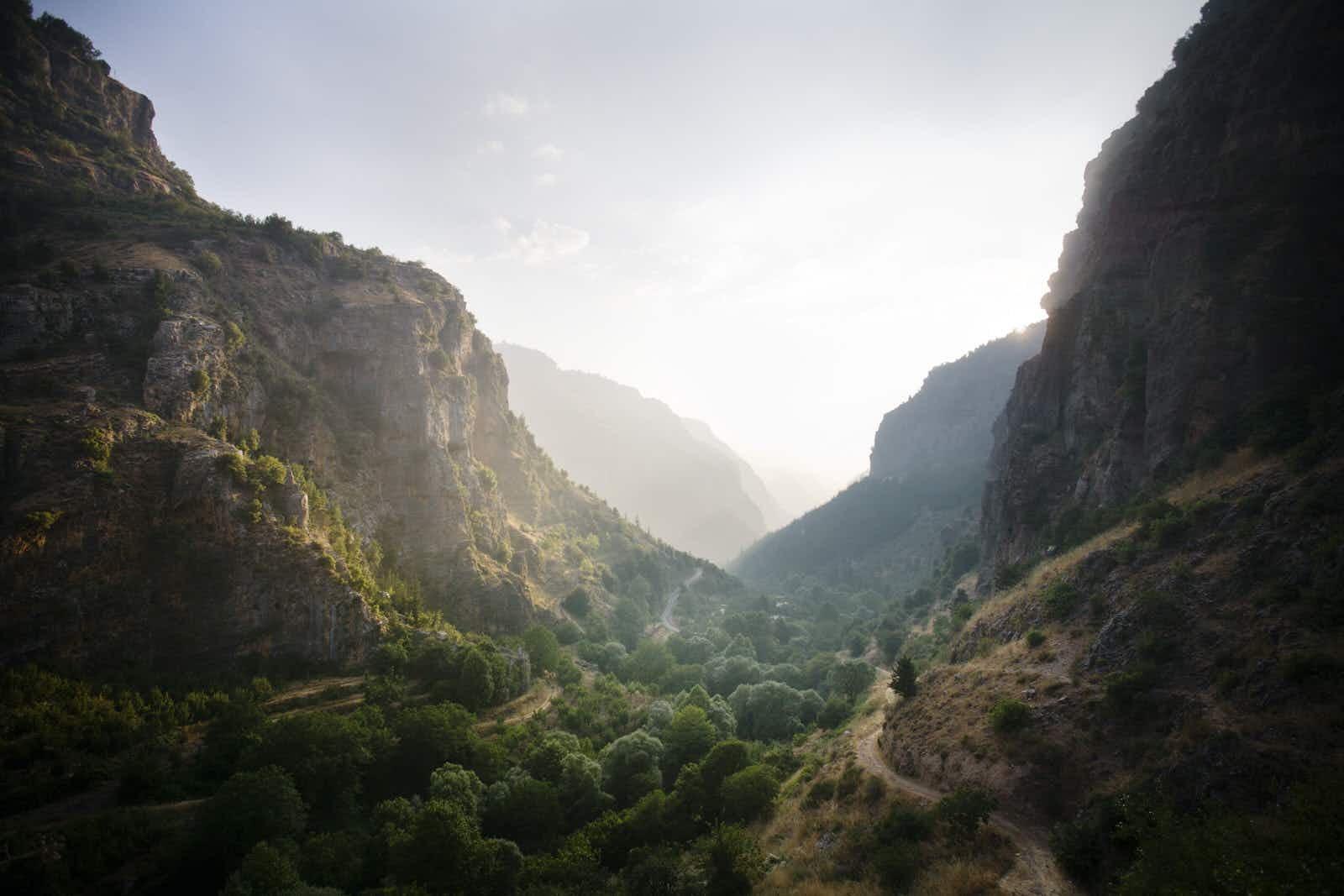 Hiking the scenic border-to-border Lebanon Mountain Trail