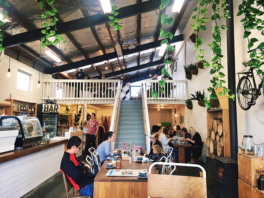 The Storehouse cafe in Taupo, New Zealand