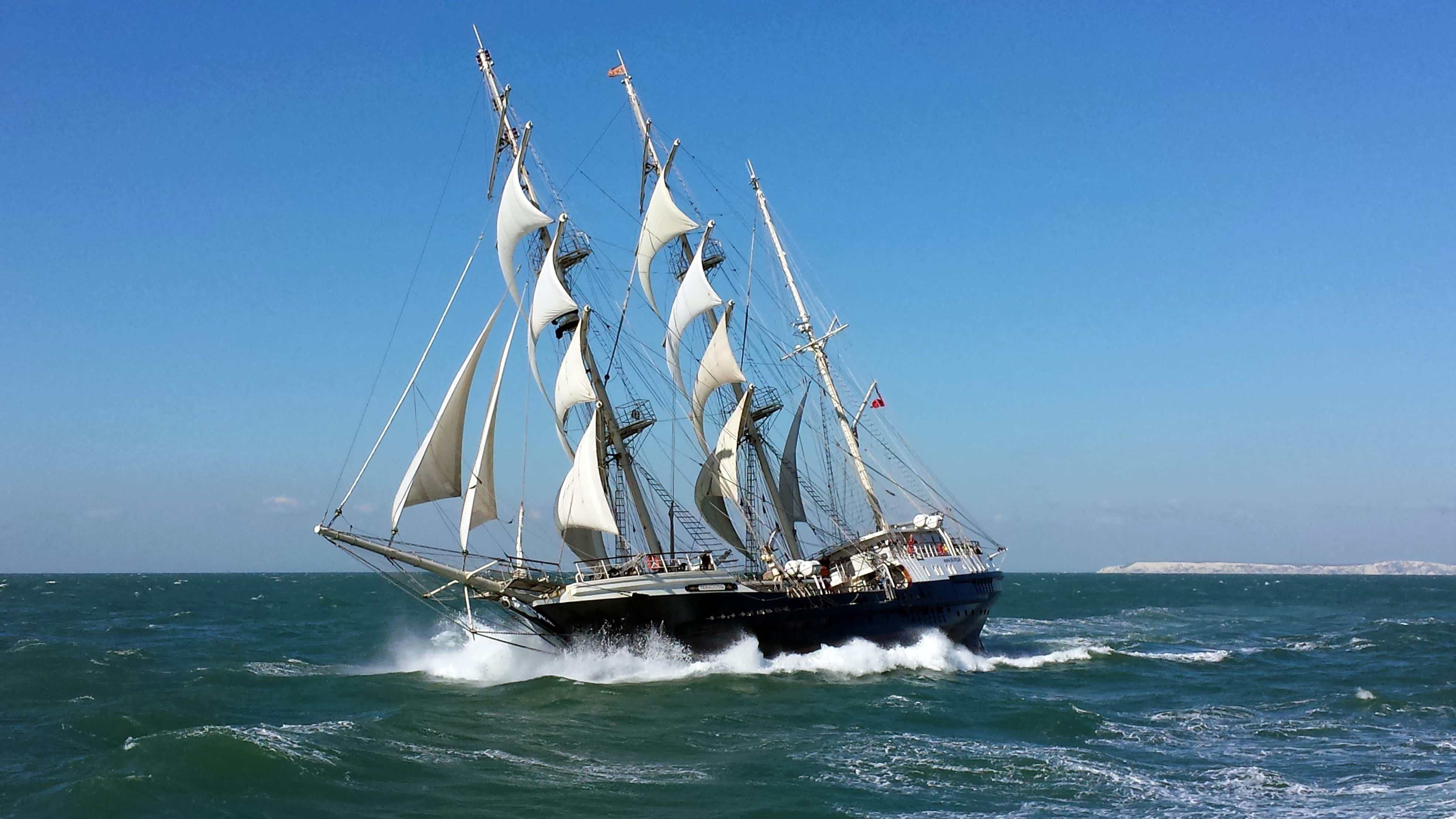 Setting sail for accessible adventure on the SV Tenacious