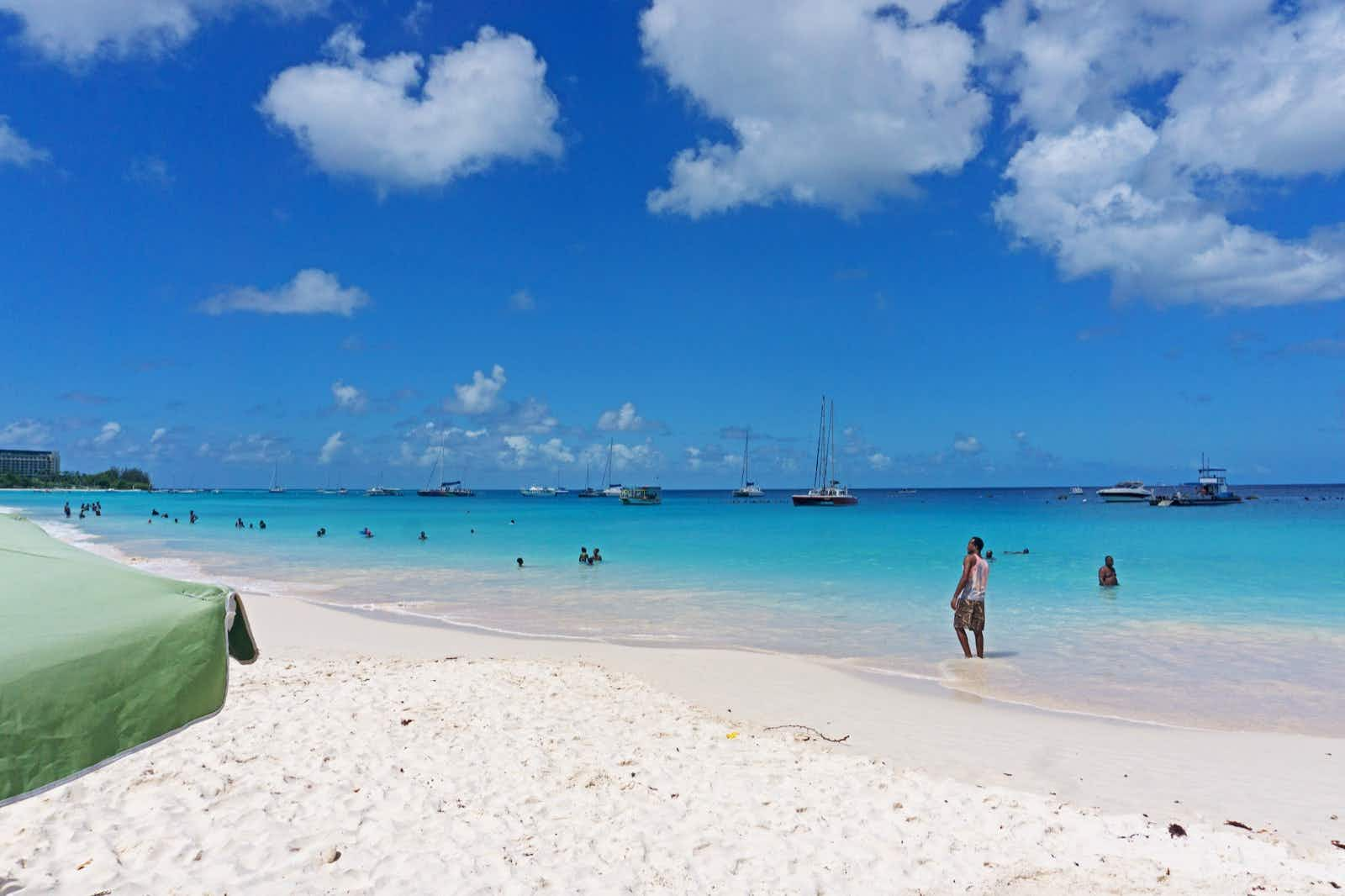 Carlisle Bay is one of the most picturesque beaches in Barbados Lebawit Lily Girma / Lonely Planet
