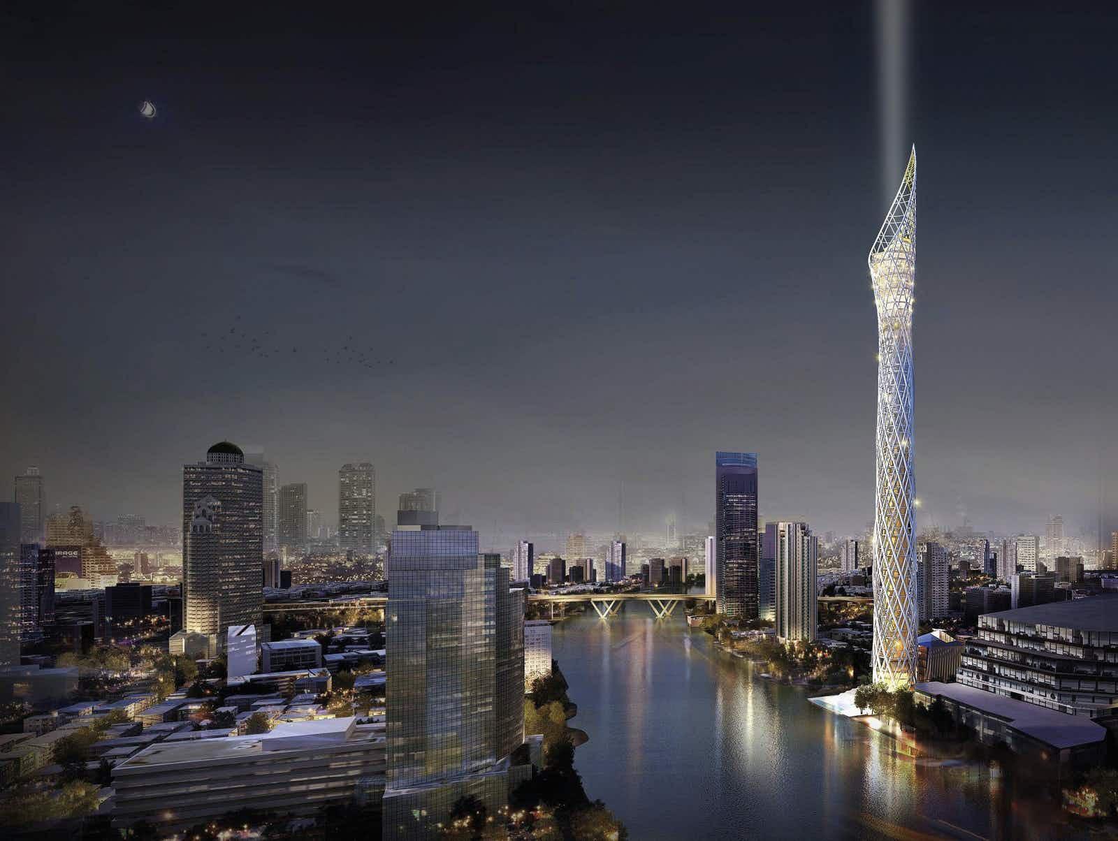 Bangkok Observation Tower (PRNewsfoto/The Chao Phraya River Tourism A)
