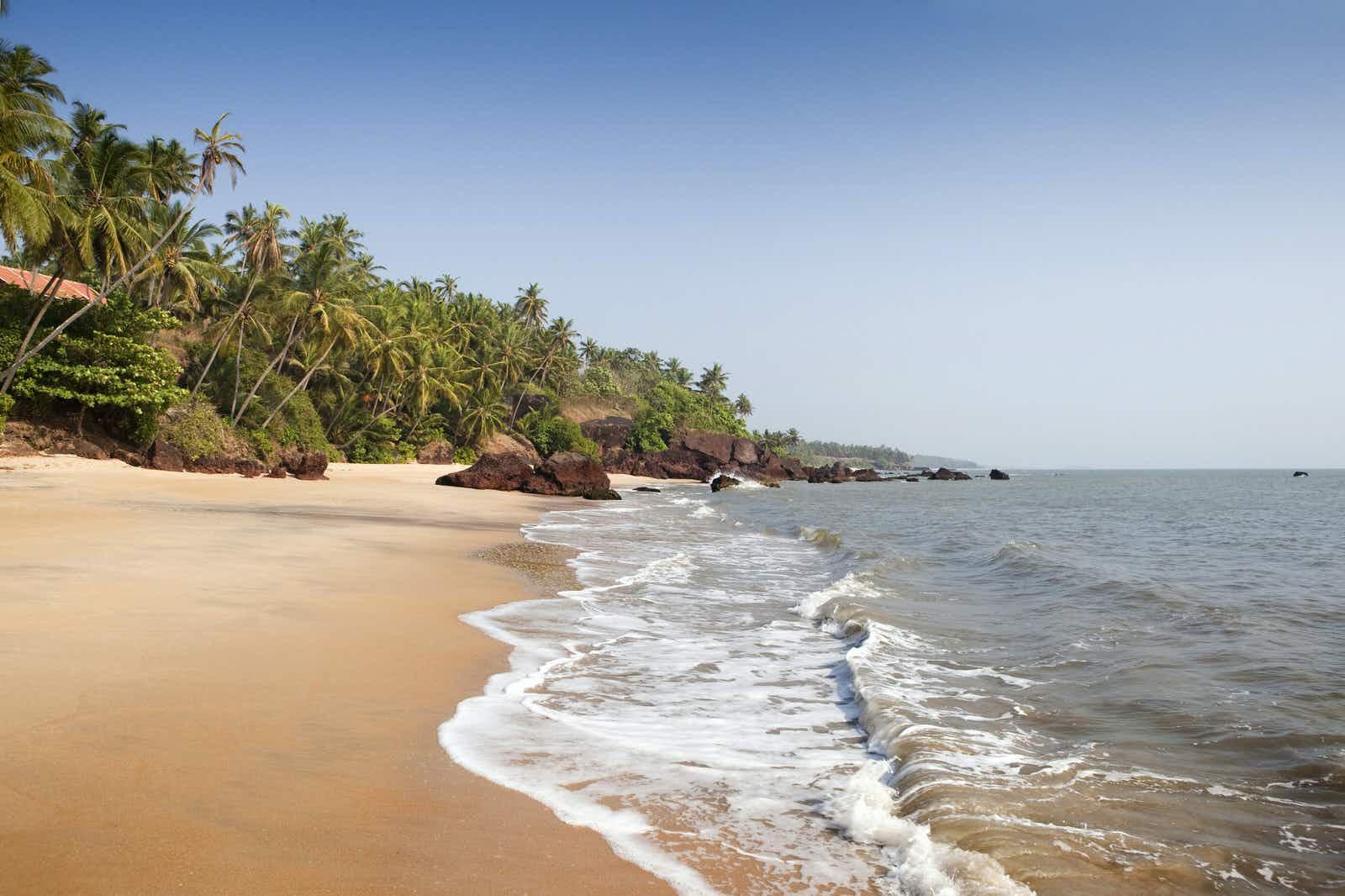 India, Kerala, Cannanore (Kannur), Adhi Kadalai, Costa Malabari small idyllic beach